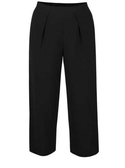 Pantaloni culottes negri Dorothy Perkins