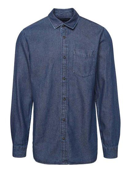 Modrá denimová košile s kapsou Jack & Jones Denim