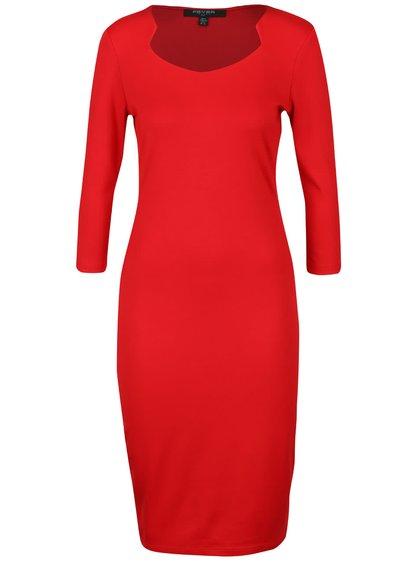 Rochie roșie Fever London Gretta