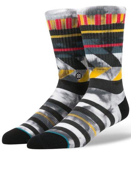 Světle šedé pánské vzorované ponožky Stance Maize