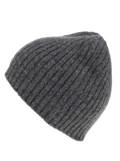 Tmavosivá pánska čiapka GANT