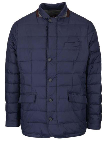 Tmavě modrá lehčí bunda Fynch-Hatton