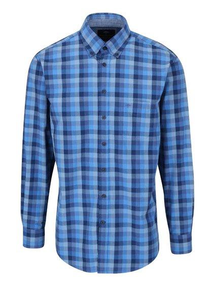 Modrá kostkovaná košile Fynch-Hatton