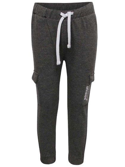 Pantaloni gri 5.10.15. pentru băieți cu model discret