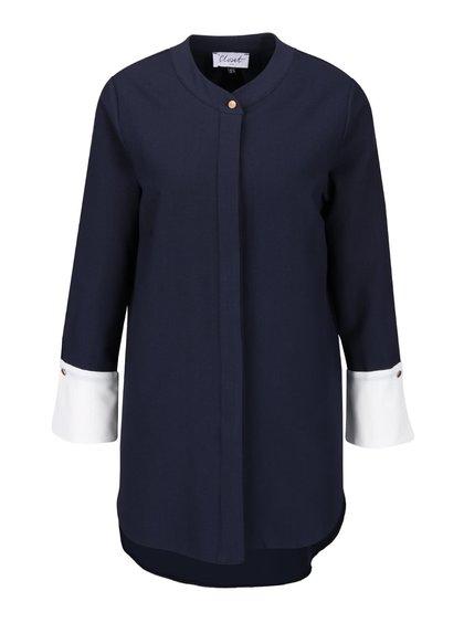 Bluză bleumarin Closet lungă