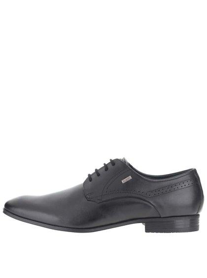 Pantofi bugatti Mattia bărbătești negri din piele