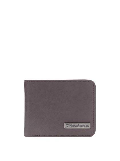 Hnedá pánska kožená peňaženka Horsefeathers Brad