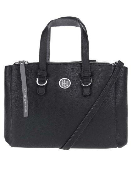 Čierna kabelka s odopínateľným popruhom Tommy Hilfiger