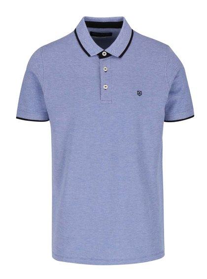 Světle modré polo triko Jack & Jones Paulos