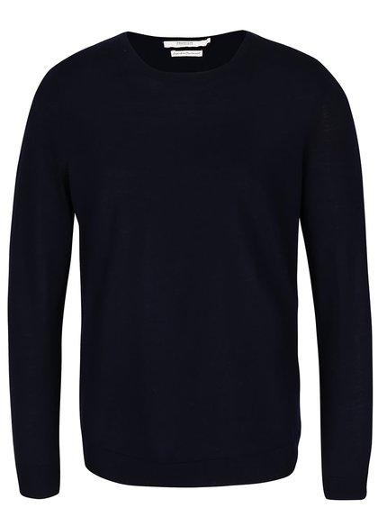 Tmavě fialový vlněný svetr Jack & Jones Premium Mark