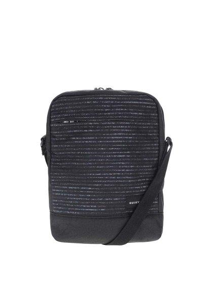 Černá pánská vzorovaná crossbody taška Quiksilver Magic