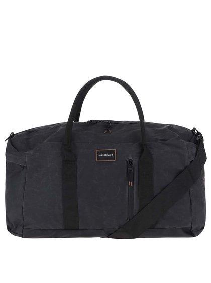 Černá velká pánská cestovní taška Quiksilver Cottage