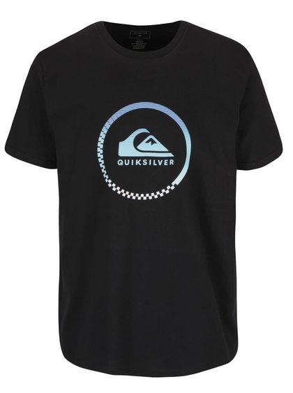 Černé pánské triko s potiskem Quiksilver Clastess Activlo
