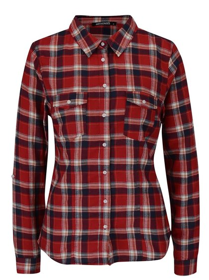 Modro-červená košile Haily´s Tanya
