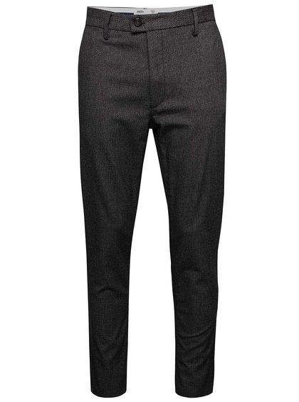 Pantaloni gri închis Burton Menswear London slim fit