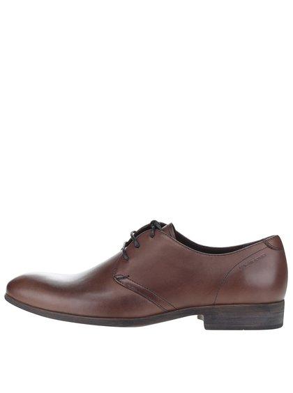Pantofi maro Vagabond Hustle din piele