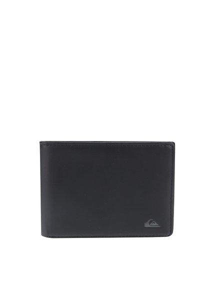 Černá pánská peněženka s logem Quiksilver Slim