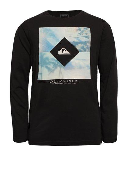 Bluză neagră Quiksilver pentru băieți