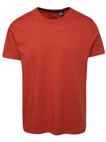 Tricou slim fit O'Neill Jack's base portocaliu