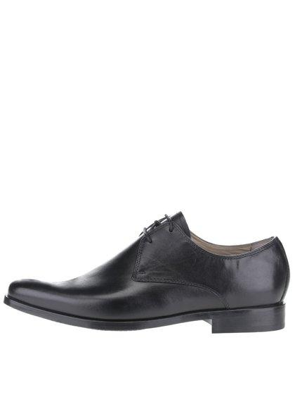 Pantofi negri Clarks Amieson Walk din piele naturală