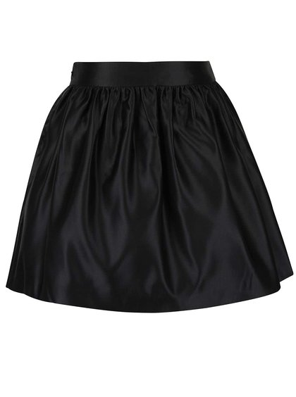Černá lesklá sukně Miss Selfridge