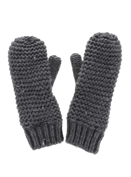 Tmavě šedé rukavice ONLY Othilde
