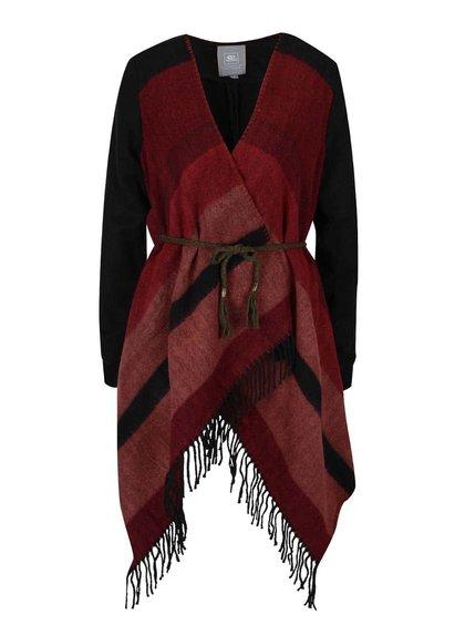 Červeno-čierny dámsky kardigan Rip Curl Vina