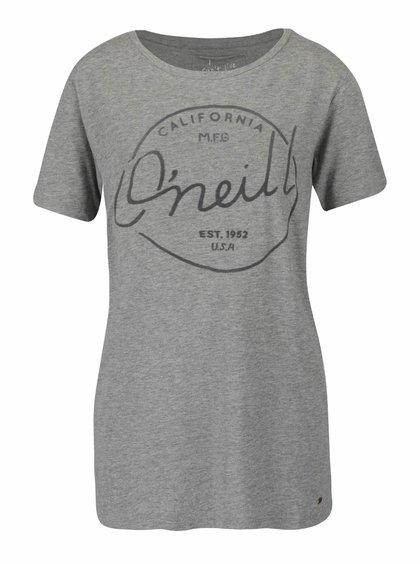 Tricou gri O'Neill Base Brand cu print