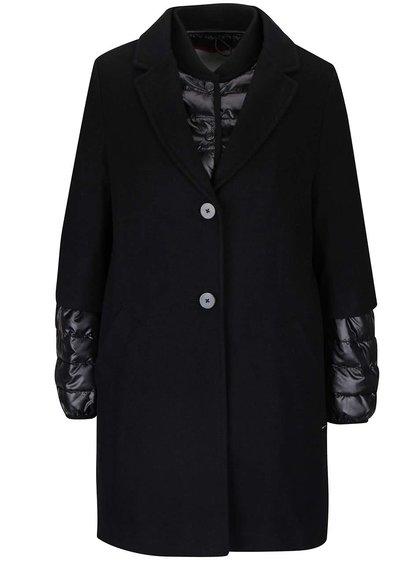 Set negru s.Oliver cu palton și jachetă matlasată