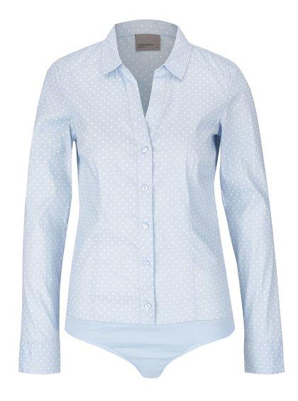 Svetlomodrá body košeľa Vero Moda Lady