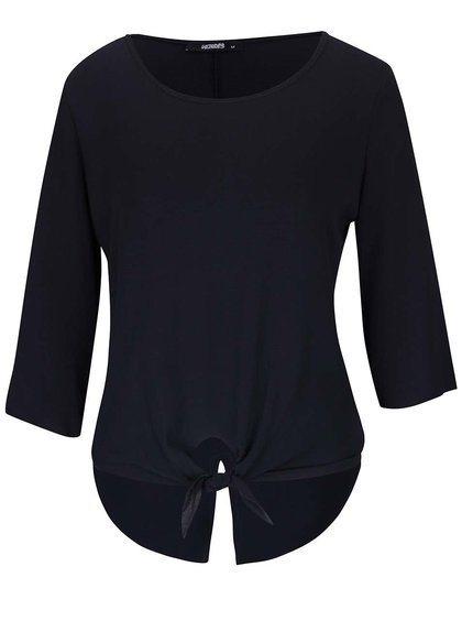 Bluză bleumarin Haily´s Michelle cu mâneci trei sferturi