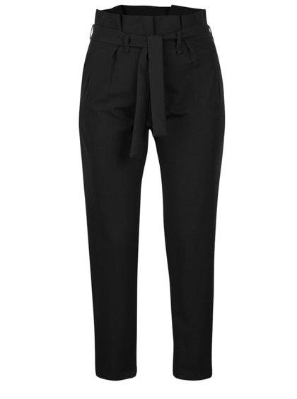 Čierne nohavice s vysokým pásom Haily´s Vanny