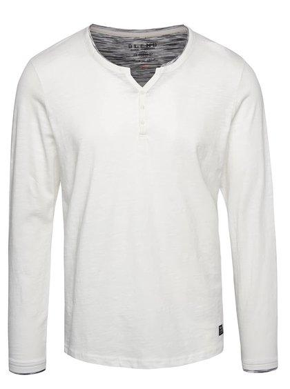 Krémové triko s dlouhým rukávem Blend