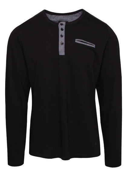 Bluză negru cu gri Casual Friday