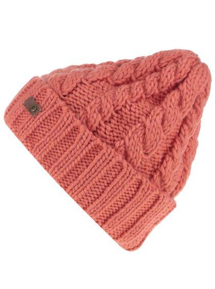 Căciulă portocalie Roxy Tram tricotată