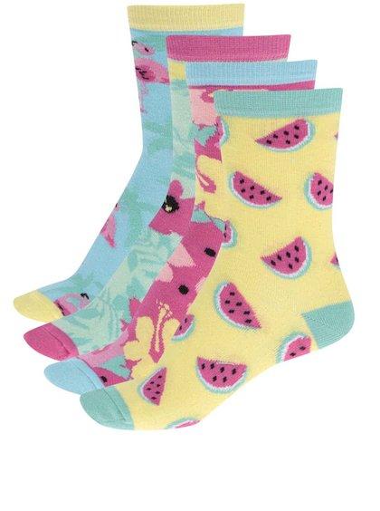 Sada tří dámských ponožek Oddsocks Tropicool