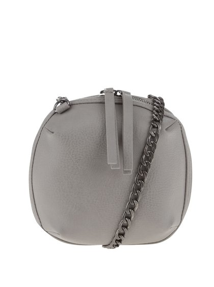 Geantă mică crossbody gri Pieces Barbara