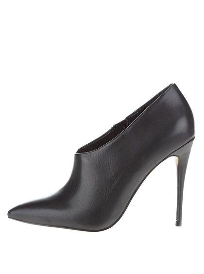 Čierne topánky na ihličkovom podpätku ALDO Capestick
