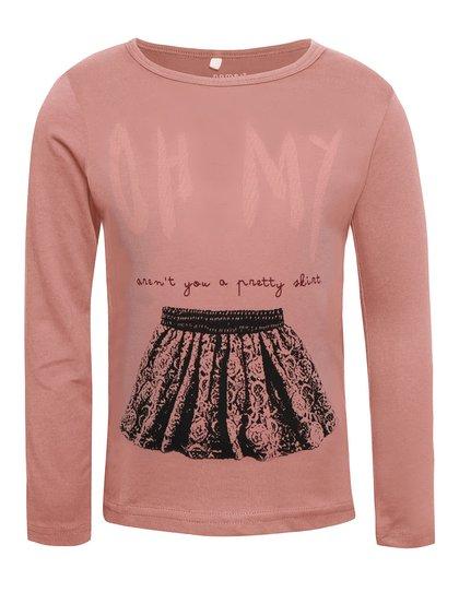 Bluză roz name it Veen pentru fete