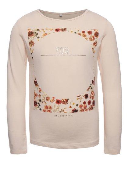 Bluză roz name it Kaja pentru fete