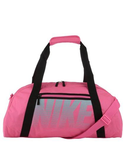 Neónovoružová športová taška Nike