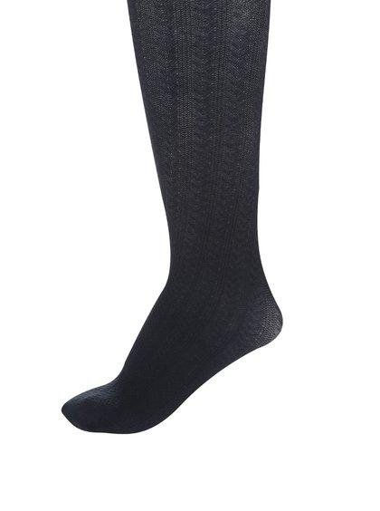 Ciorapi bleumarin cu torsade name it Kabel pentru fete