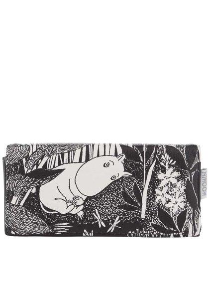 Čierna peňaženka s potlačou Disaster