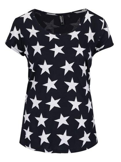 Tricou bleumarin Haily´s Lola cu imprimeu stele