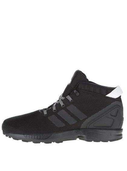 Čierne pánske členkové tenisky adidas Originals ZX Flux 5/8