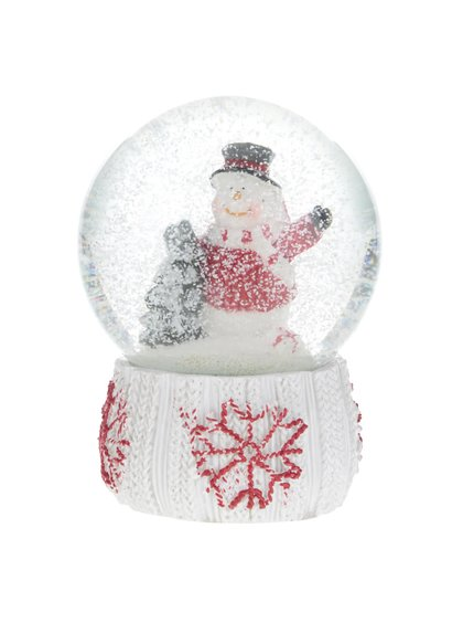 Glob decorativ Dakls cu tematică de Crăciun
