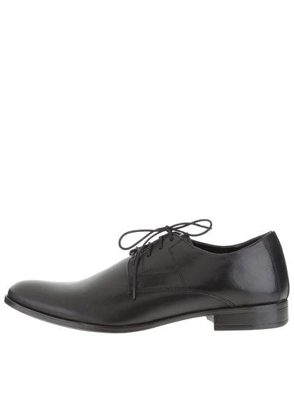 Pantofi negri OJJU pentru bărbați