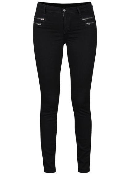 Pantaloni skinny VILA Commit negri