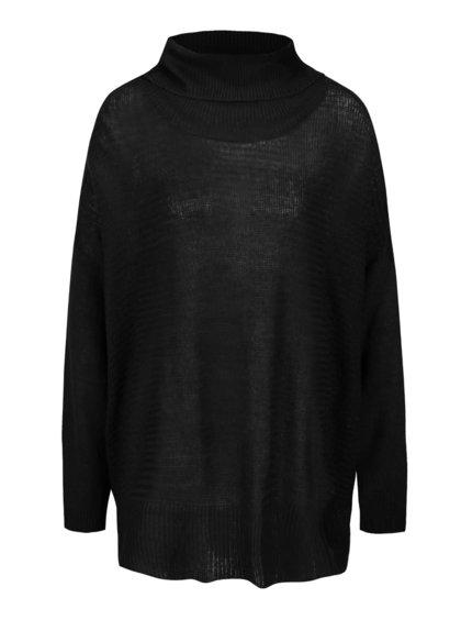 Čierny sveter s rolákom b.young