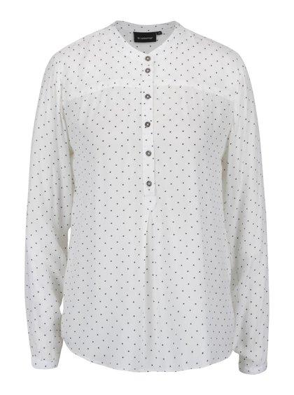 Bluză crem b.young Fabia cu print pentru femei